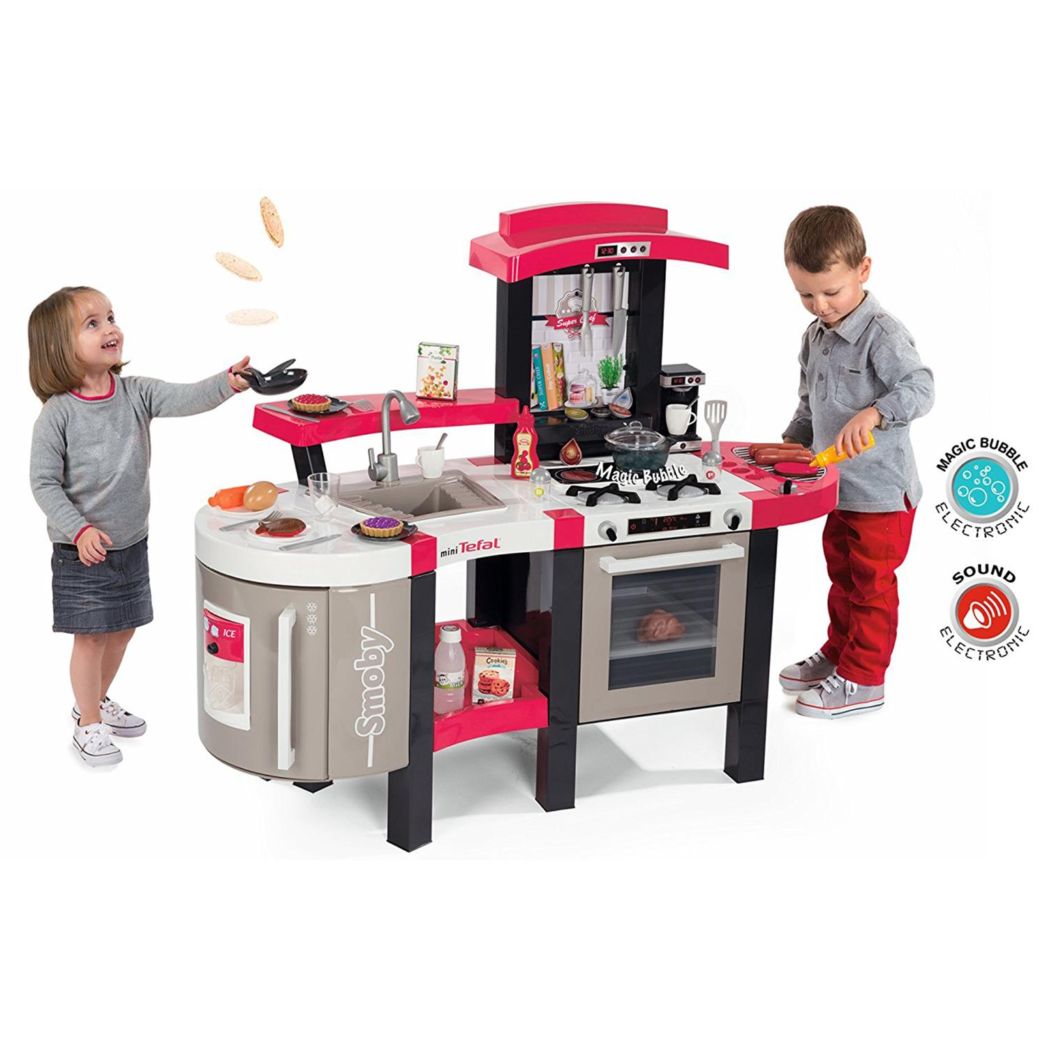 Smoby Küche Bubble Smoby 311304 Tefal Super Chef Bubble Deluxe