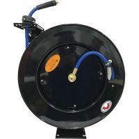 JobSmart 3/8 in. x 75 ft. Spring Driven Air Hose Reel at