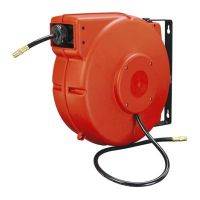 Workforce Plastic Enclosed Air Hose Reel, 3/8 in. x 50 ft