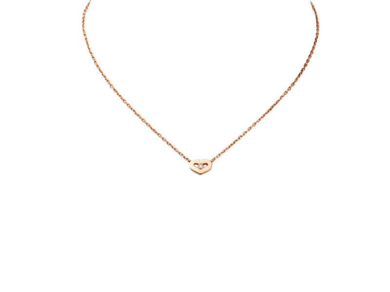 Cartier Diamond Pendant Necklace Diamond And Electronic