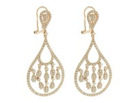 14K Rose Gold Diamond Unique Chandelier Earrings | Buy at ...