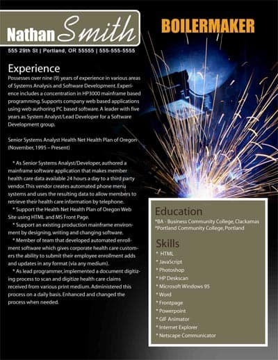 Amazing Boilermaker Welder Cover Letter Pics - Printable Coloring