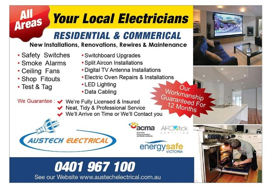 Austech Electrical Security In Cranbourne Melbourne