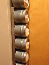 How To Use A Sliver Of Wall Space For A Spice Rack | Trusper