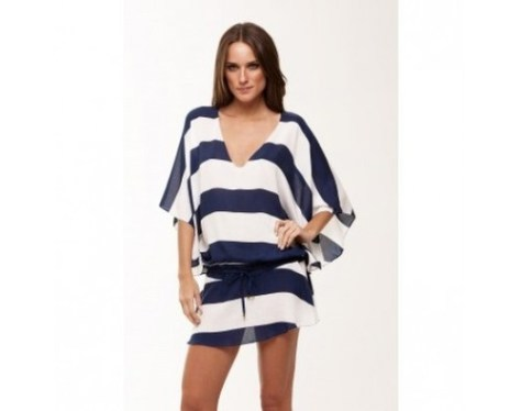 striped vintage tunic navy lovesurf