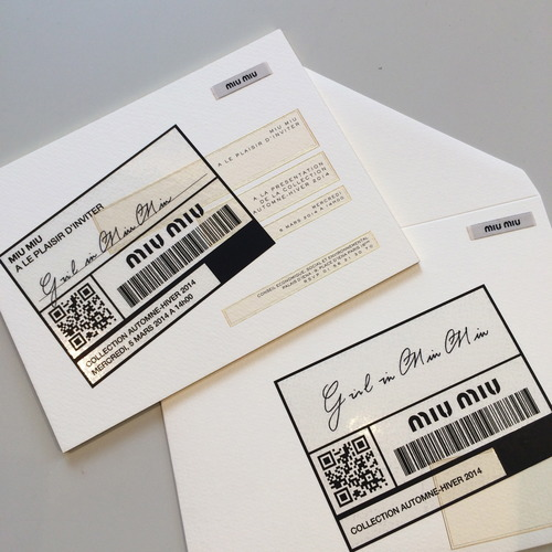london fashion week show invitations - Google Search master - ticket invitation