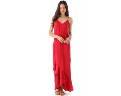 red maxi dress lovesurf