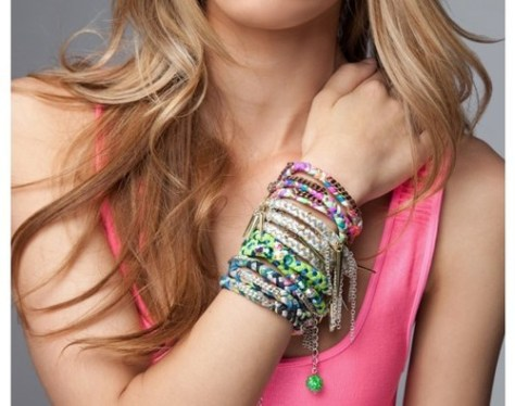 neon braided wrap bracelet lovesurf