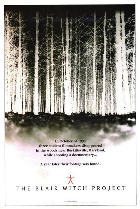 The Blair Witch Project (1999) poster