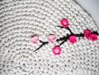 King Soleil  Crochet Rug Wall Art