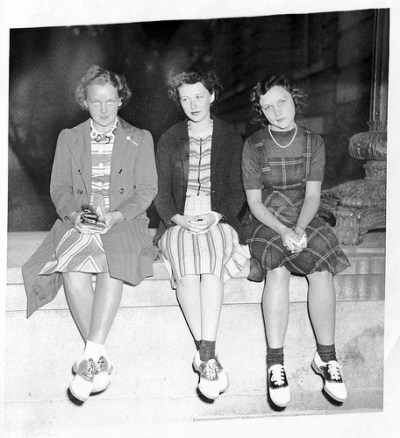 Then & Now: Saddle Shoes and Vintage Frames - Get Stylin'