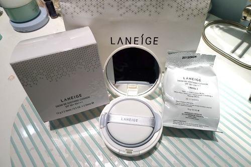 Laneige Waterproof Makeup For The Rainy Days The