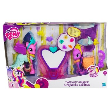 Twilgiht and Cadence playset