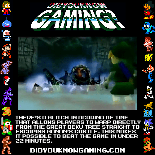 Did you know gaming Zelda fun facts.