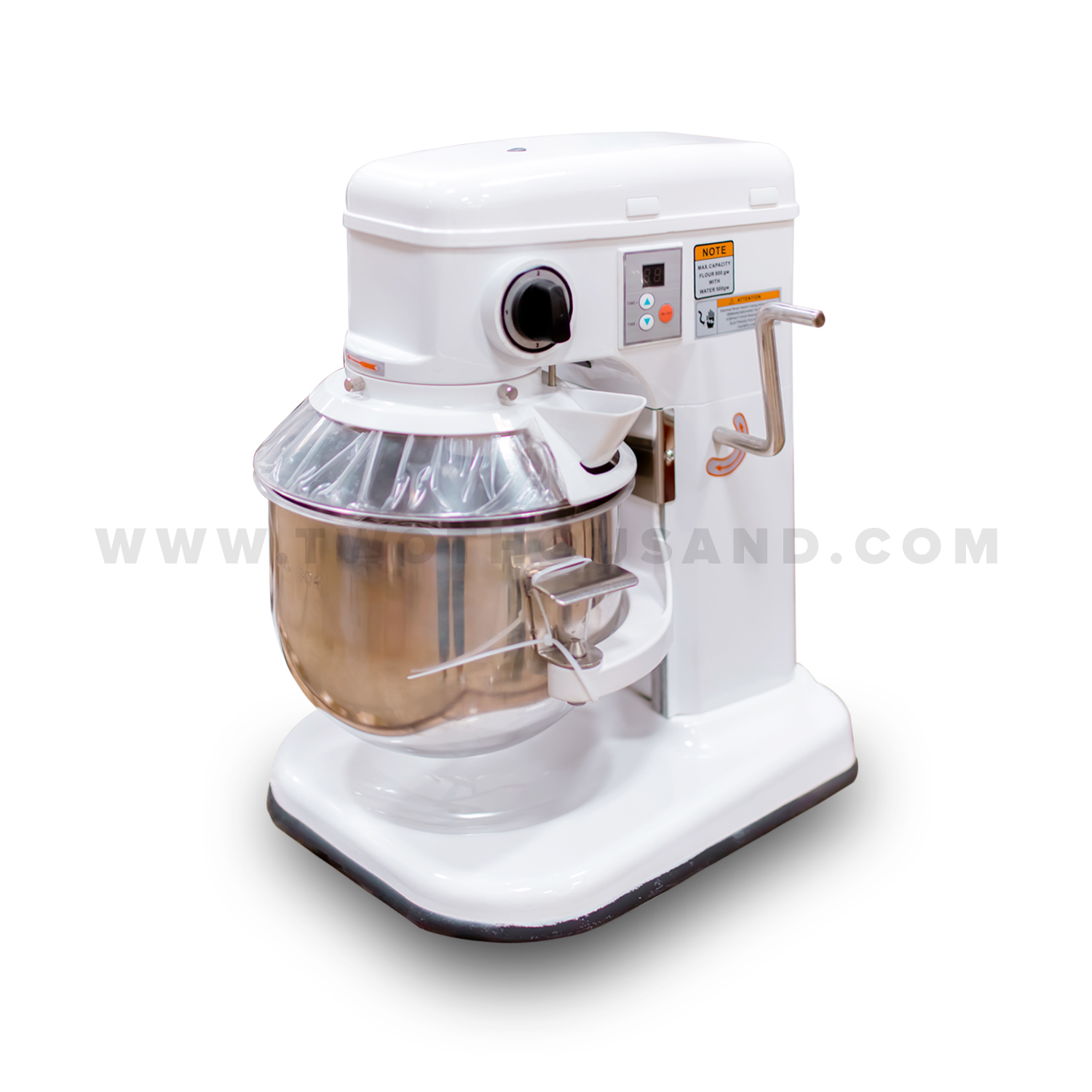 Commercial Countertop Mixer 7l 3 Speed Gear Drive Ce Manual Control Countertop Stand
