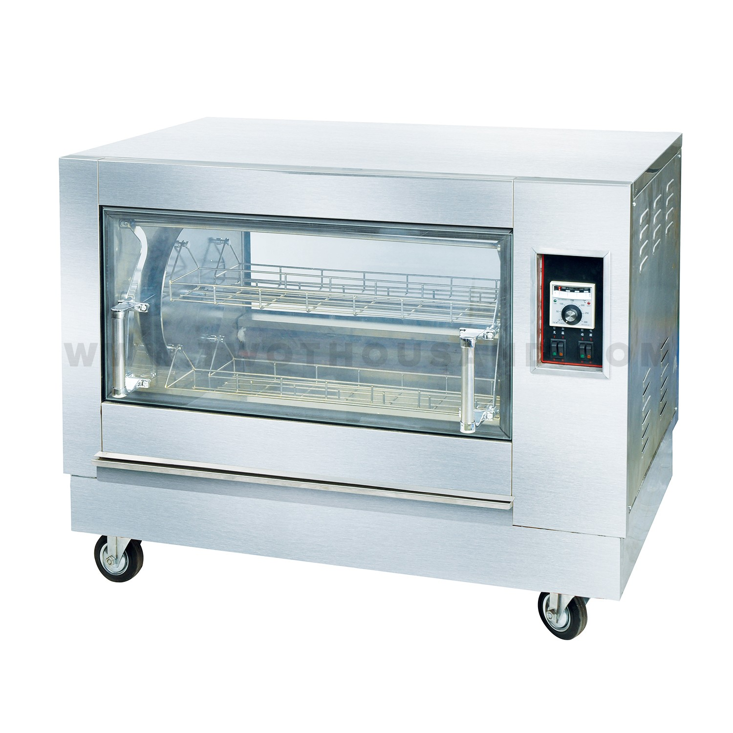 Countertop Rotisserie Ovens L 1030mm Countertop Electric Rotary Chicken Rotisserie