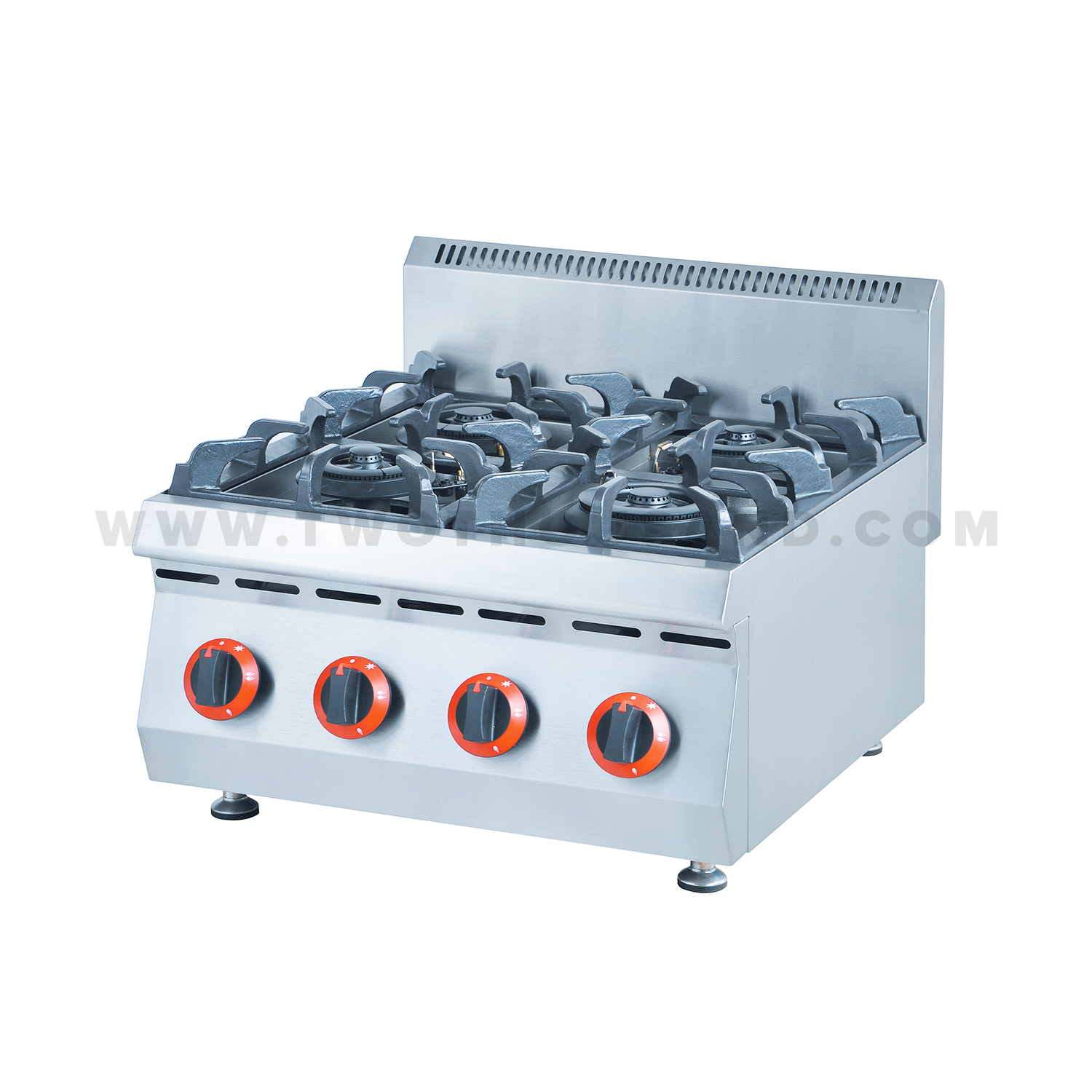 Gas Countertop Stoves 4 Burners Countertop Commercial Range Gas Hot Plate Tt We275