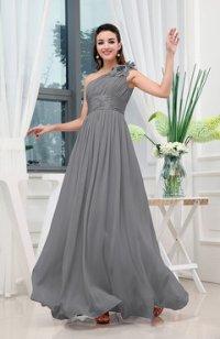 Pewter Bridesmaid Dresses - UWDress.com