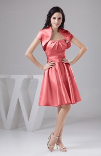 Shell Pink Bridesmaid Dresses - Discount Wedding Dresses