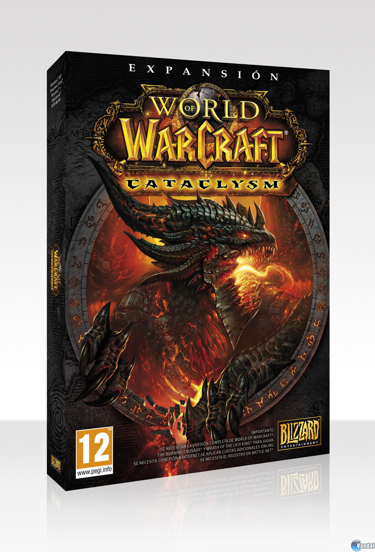 Libros De World Of Warcraft World Of Warcraft Cataclysm La Edición De Coleccionista