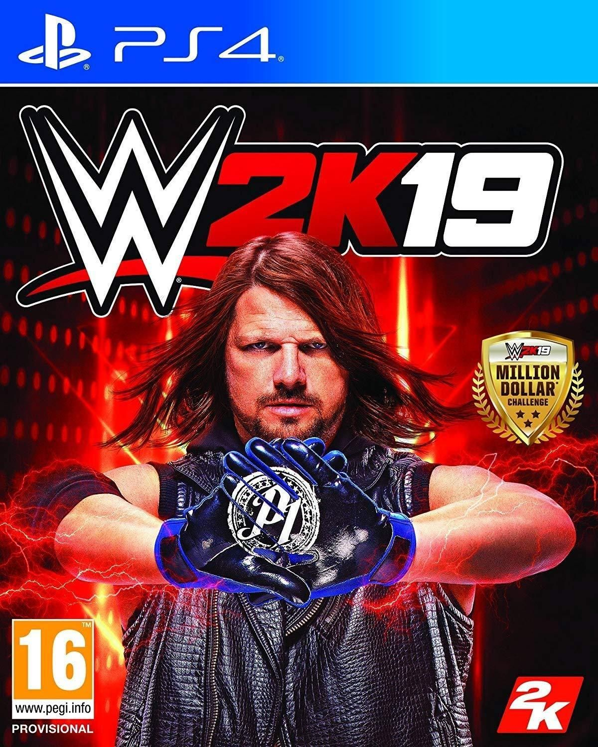 Lucha Libre Juego Online Wwe 2k19 Videojuego Ps4 Pc Y Xbox One Vandal