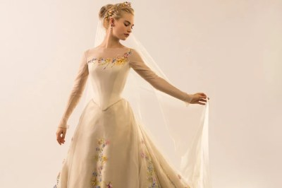 First Look: The Making of Cinderella's Wedding Gown ...