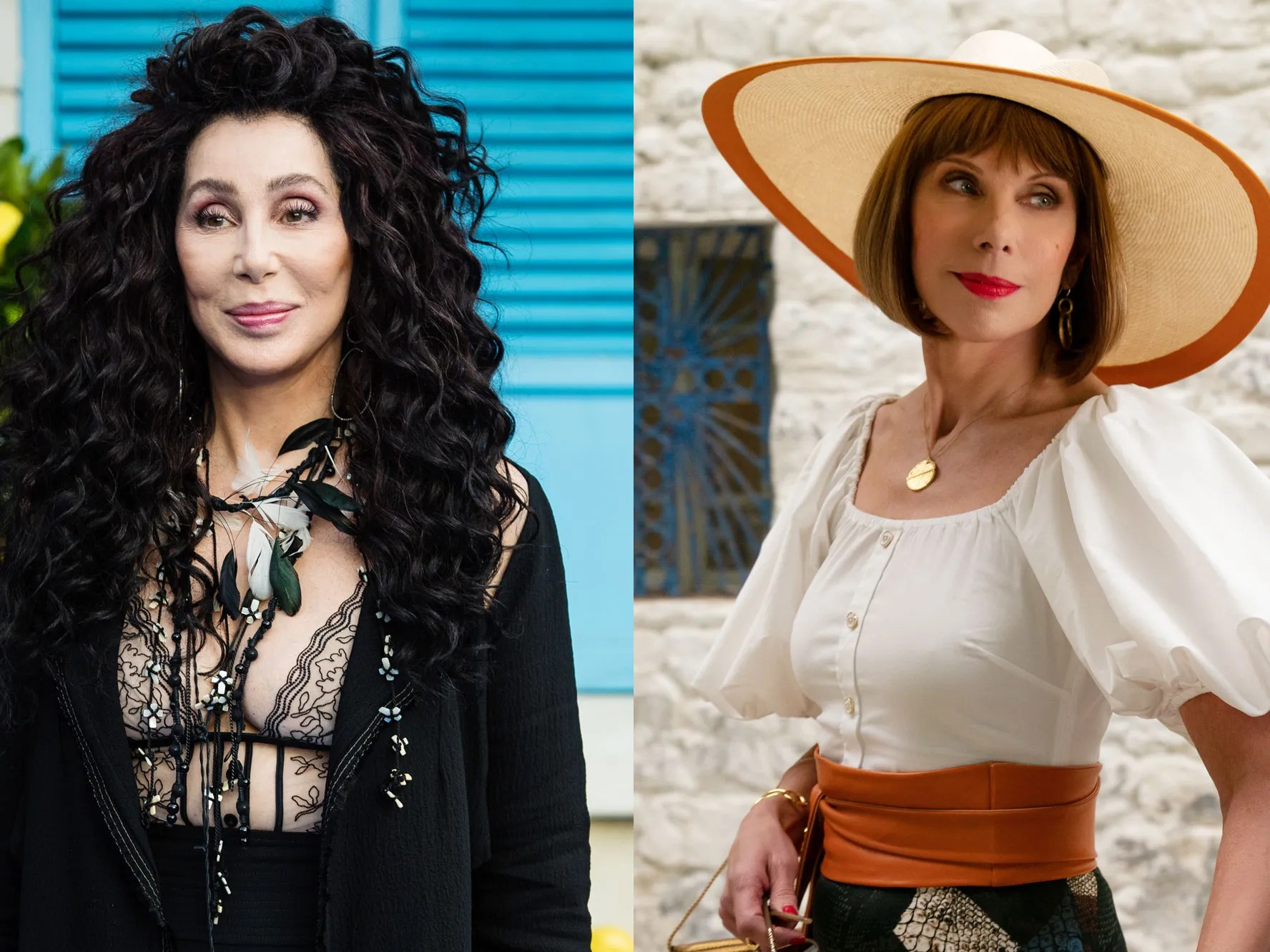 Mamma Mia Why Cher Chose Playing Meryl Streep S Mother Over Her Best Friend Vanity Fair