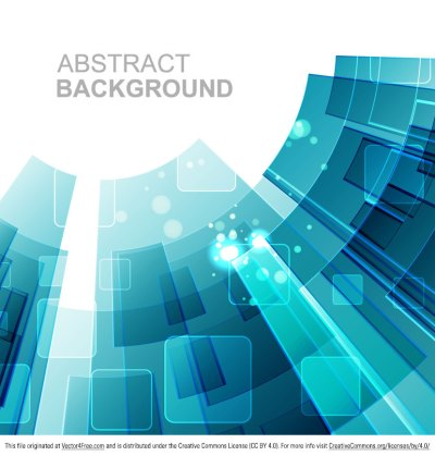 Free Abstract Tech Background Vector
