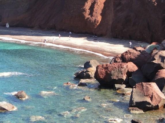 Praia Vermelha - Santorini. Foto por: Naiara Back