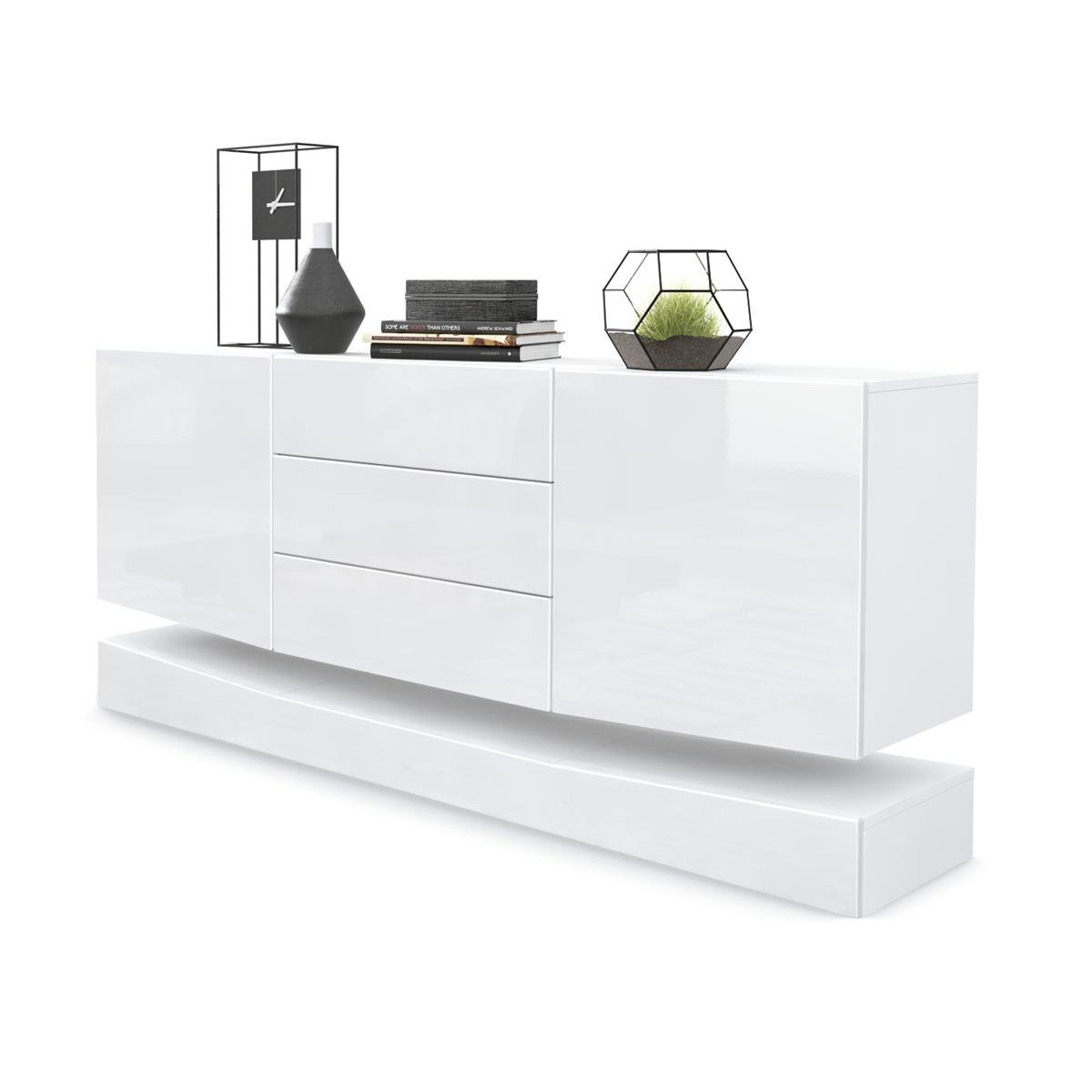 Sideboard City Mit Sockel Und Led Beleuchtung