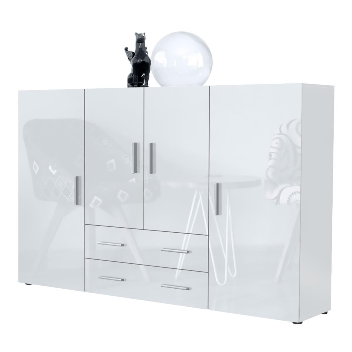 Tv Highboard Weiß Sideboards Sideboards Highboards Vladon Möbel 2018