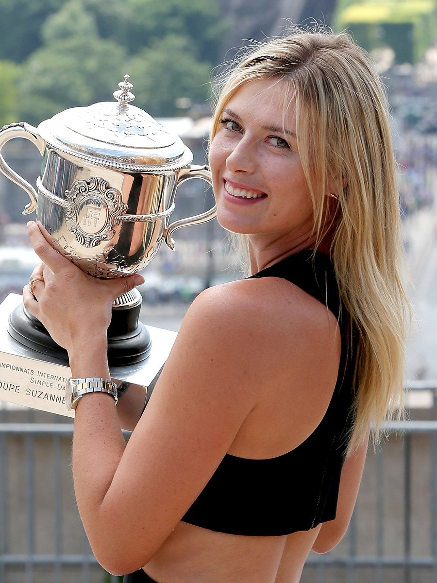 Www Glamour De Maria Sharapova - Photos - Vogue