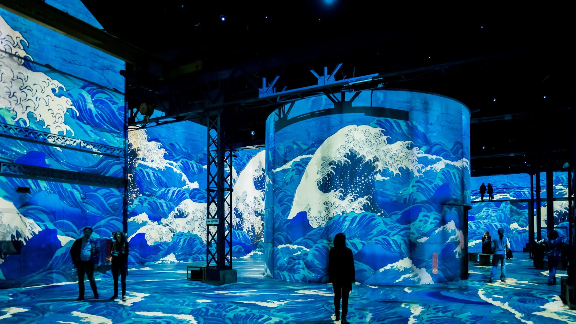 Atelier Seewhy Dreamed Japan Will Light Up The Atelier De Lumières In Paris