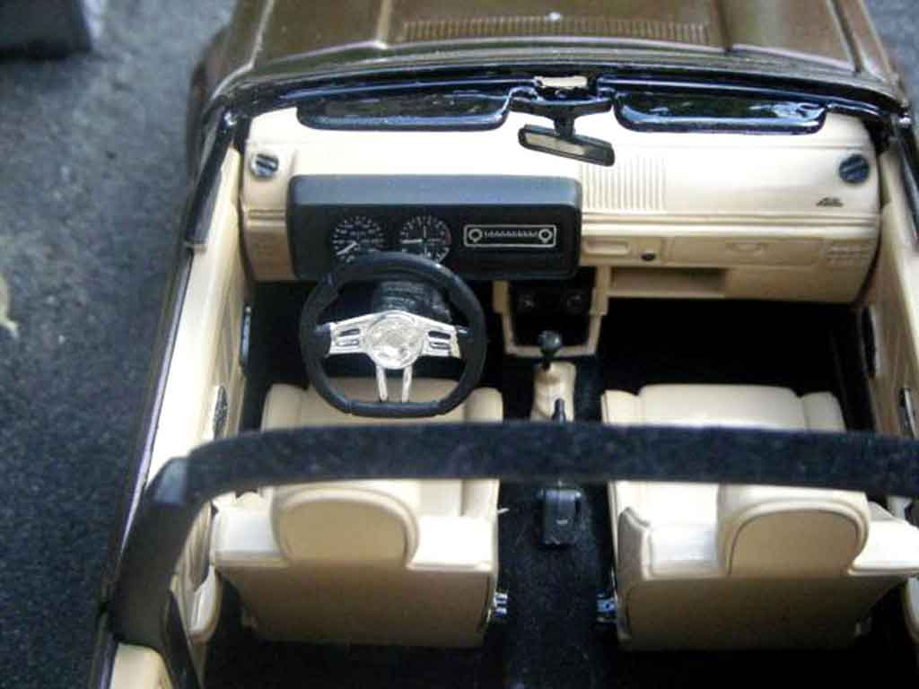 Interieur Golf 1 Sportline Volkswagen Golf 1 Cabriolet Karmann Sun Star Diecast Model Car 1