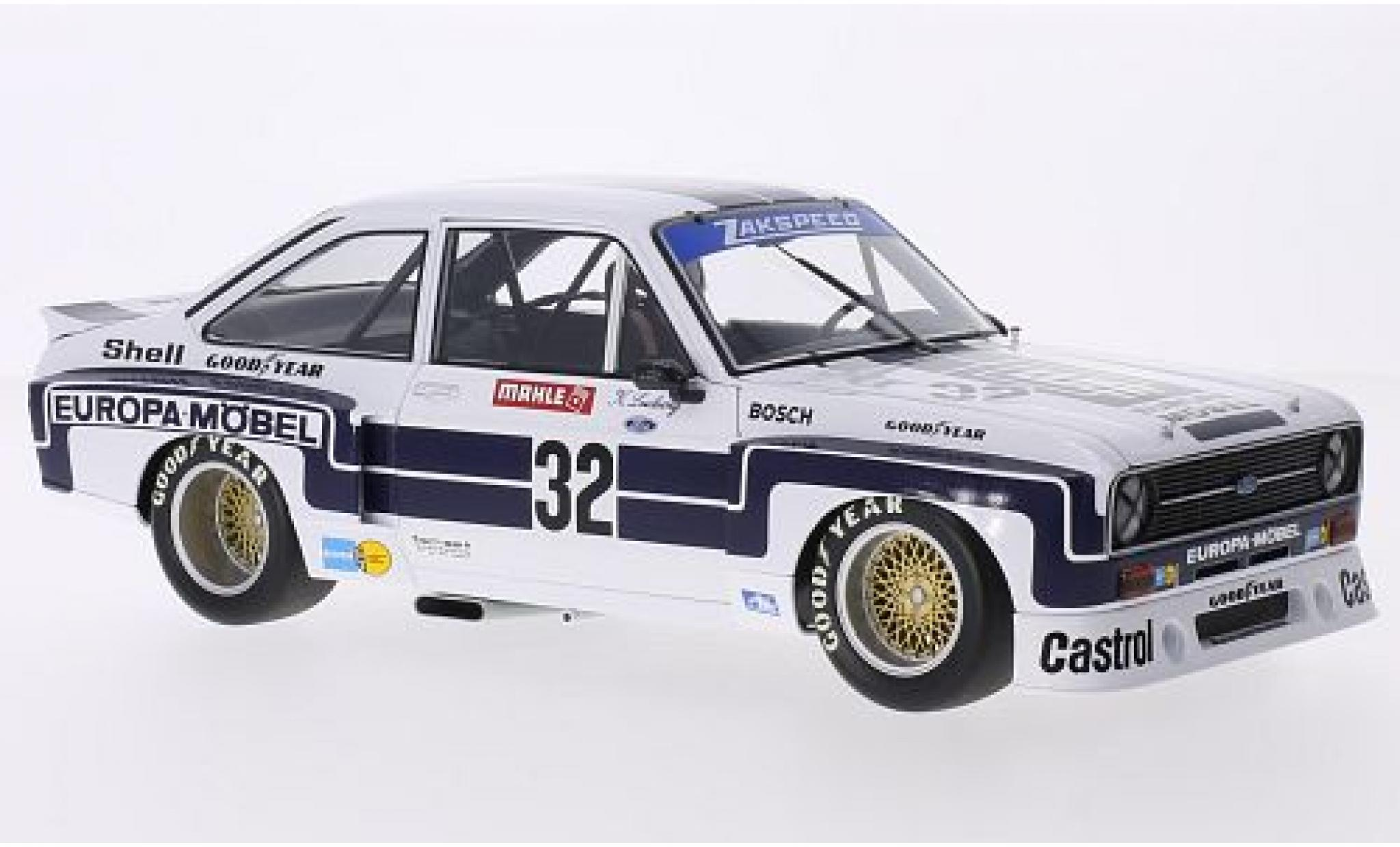 Diecast Model Cars Ford Escort 1 18 Minichamps Ii Rs 1800 No 32 Europa Möbel Drm Nürburgring 1976 K Ludwig Alldiecast Us