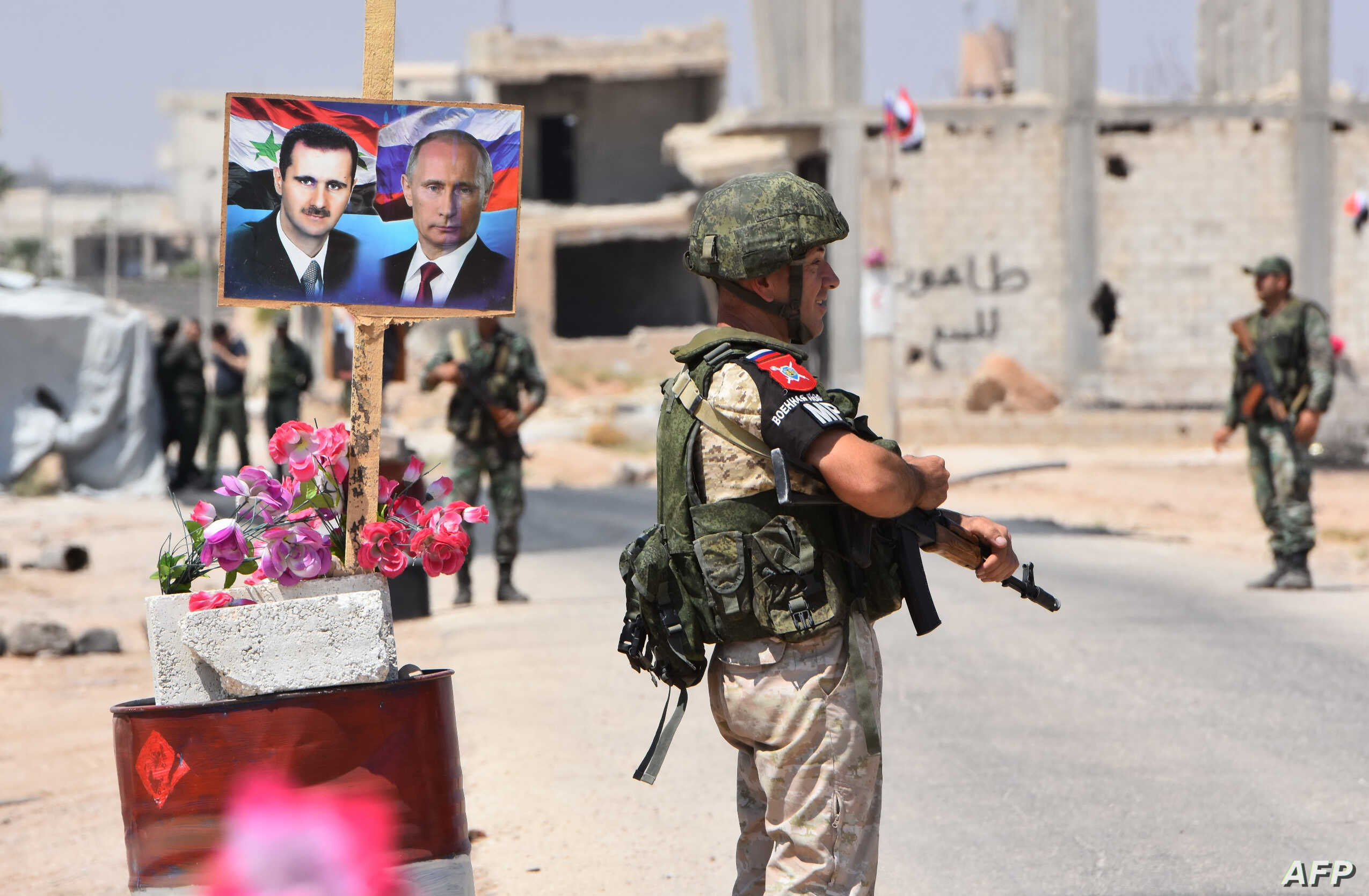 Ottoman Russian War Russia Now Juggling Challenges Of War Wracked Syria Voice Of