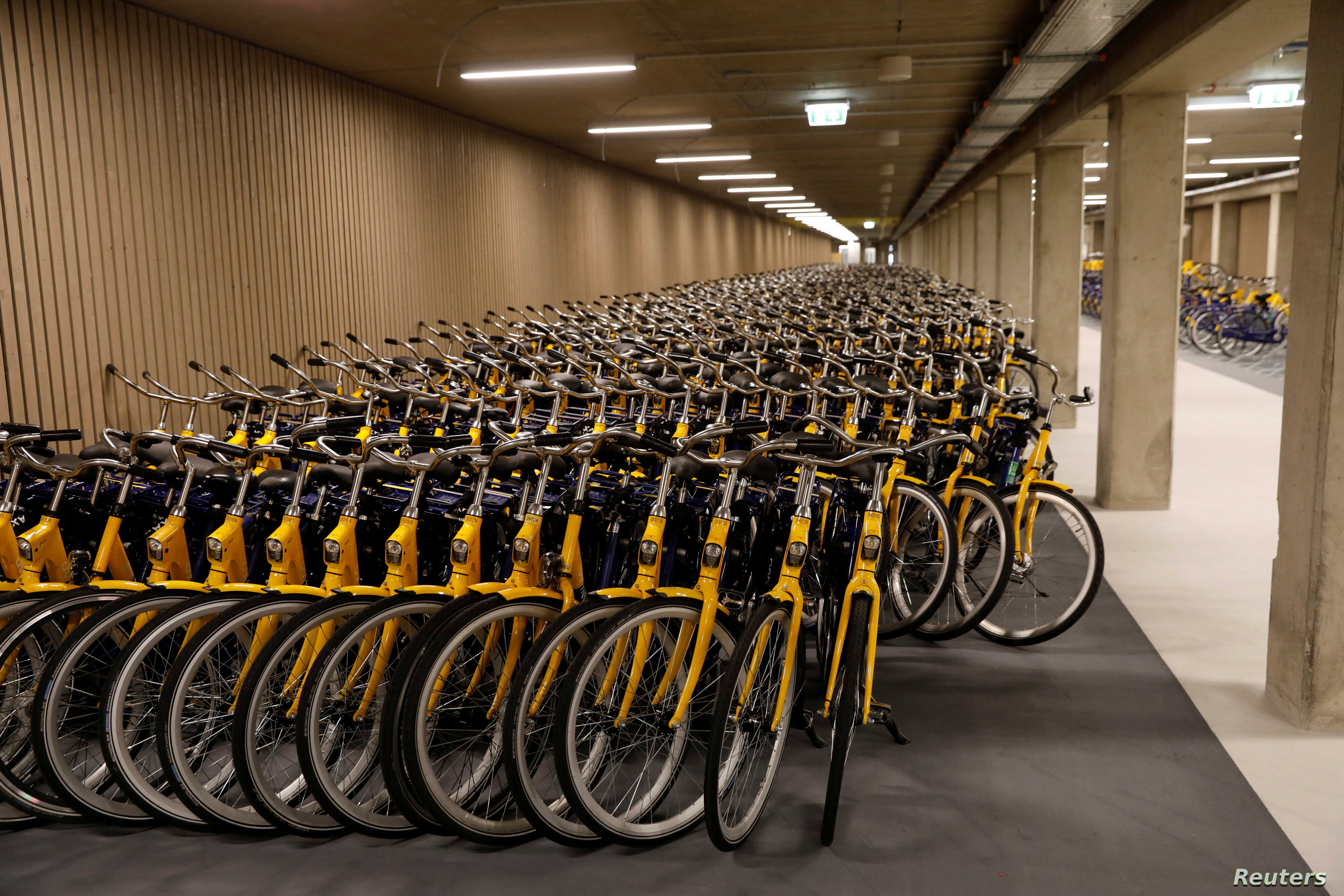 Parking Garage Bike Rack Dutch Build Vital New Infrastructure World S Biggest Bike
