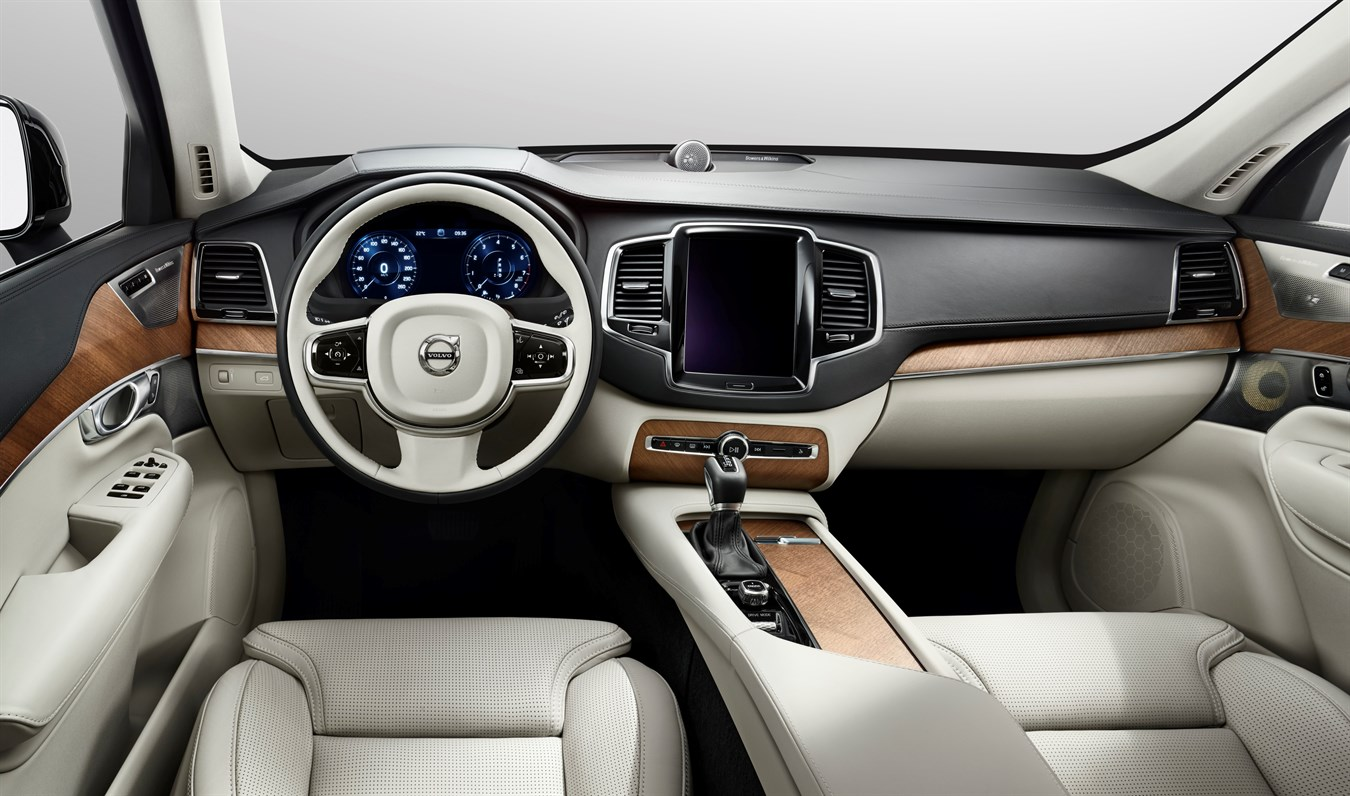 Volvo Interieur All New Volvo Xc90 To Transform The In Car Driving Experience