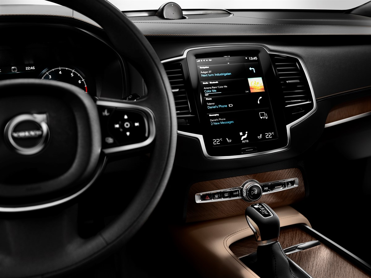Nya Interieur The All-new Volvo Xc90 - First Edition - Volvo Personbilar