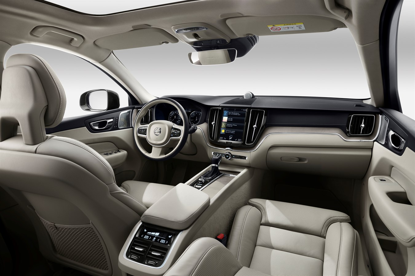 Volvo Interieur The New Volvo Xc60 Volvo Car Usa Newsroom
