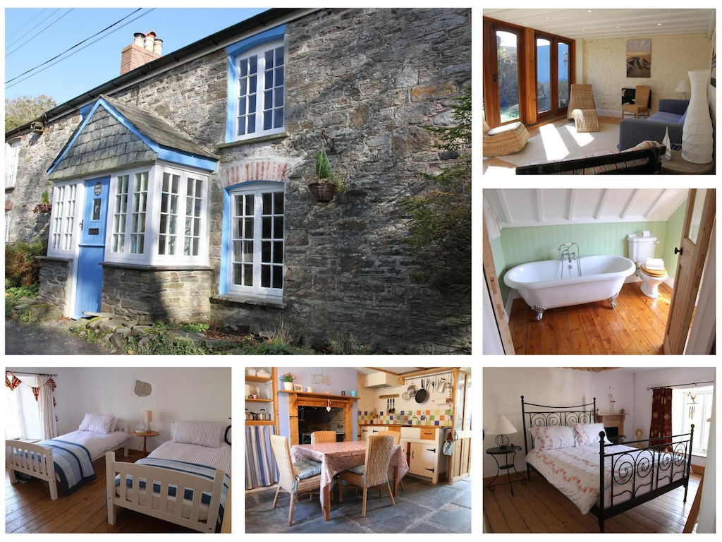Family Friendly Cottage Bodmin Moor Camelford Tintagel Poldark Cornwall Camelford