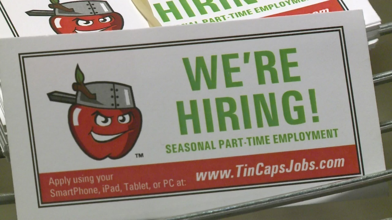 In Job Part Time Tincaps To Fill Hundreds Of Part Time Positions At Job Fair