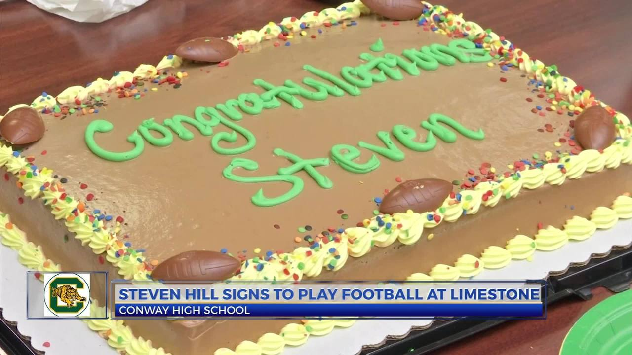 Football Kuchen Steven Hill Signs With Limestone For Football