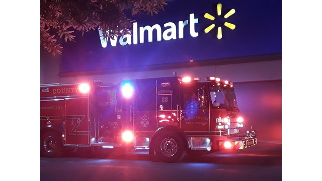 Fire at Walmart near Carolina Forest prompts store evacuation