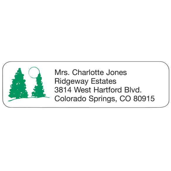 Cardinals Return Address Labels - Bird Return Address Labels - Easy - Address Label
