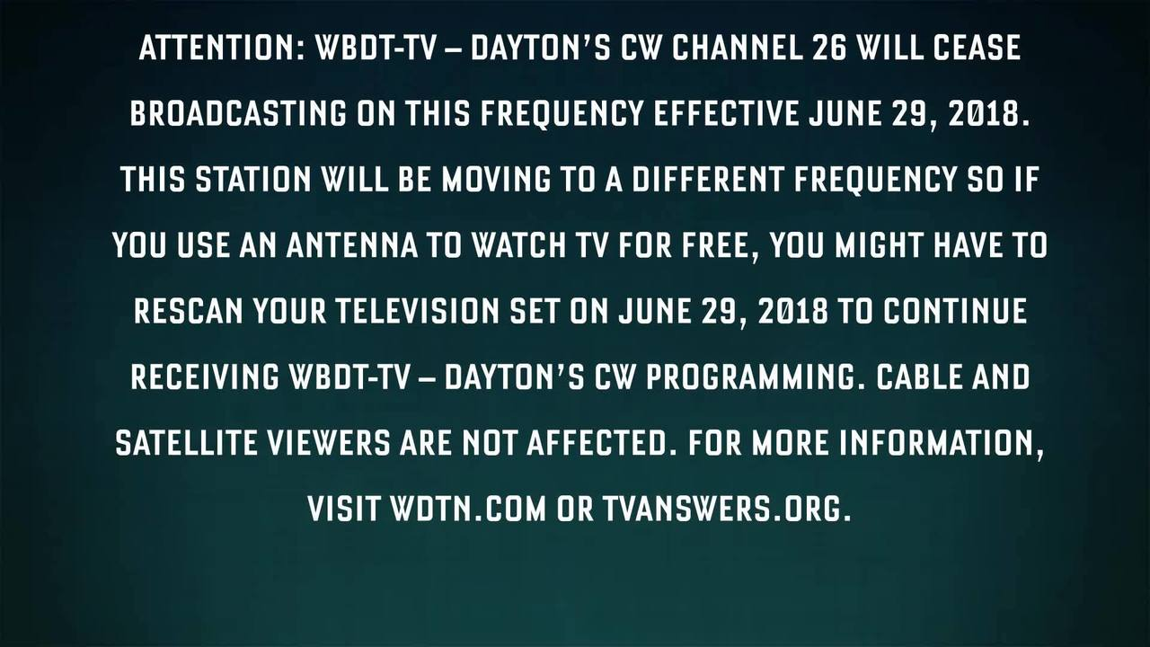 Frequency Tv Dayton S Cw Changing Broadcast Frequency