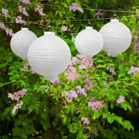 LED-Lampion, 20 cm, rosa - weddix.de