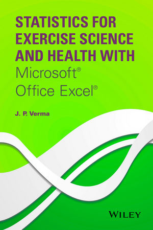 Statistics for Exercise Science and Health with Microsoft Office - microsoft exercise