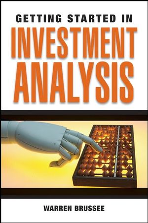 Getting Started in Investment Analysis General Finance