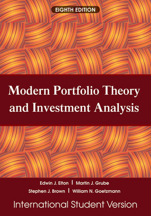 Modern Portfolio Theory and Investment Analysis, 8th Edition - investment analysis